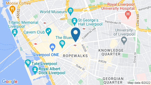 Central Station Hotel Liverpool Map