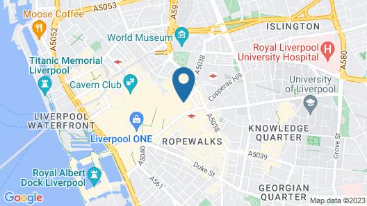 CARO Short Stay Parker Street Map