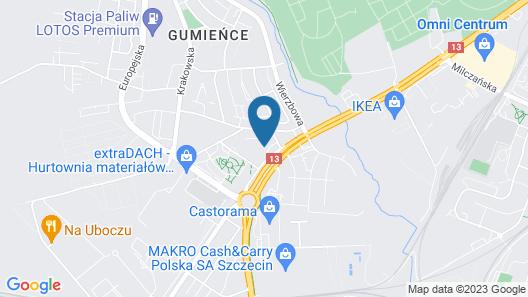 Ibis Budget Szczecin Map