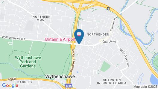Britannia Hotel Manchester Airport Map