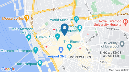 Base Serviced Apartments - Sir Thomas Street Map