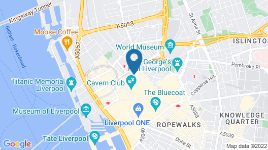 OYO Vincent Apartments Map