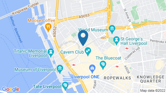 Dream Apartments Dale Street Liverpool Map