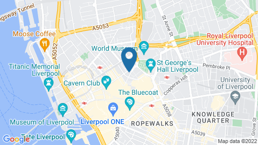 Signature Living at The Shankly Hotel Map
