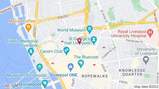 The Shankly Hotel Map