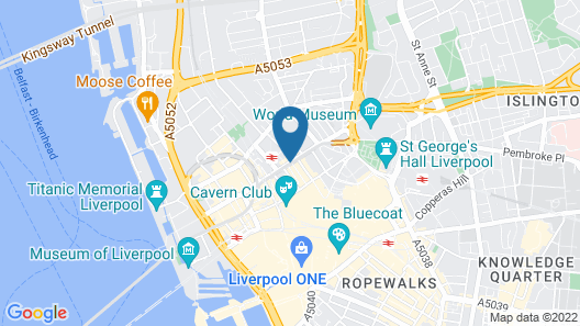 ibis Styles Liverpool Centre Dale Street Map