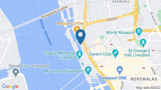 Malmaison Liverpool Map