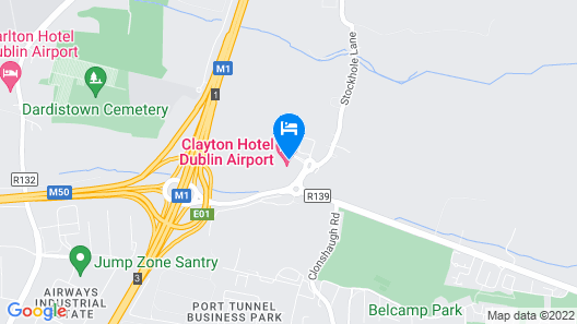 Clayton Hotel Dublin Airport Map