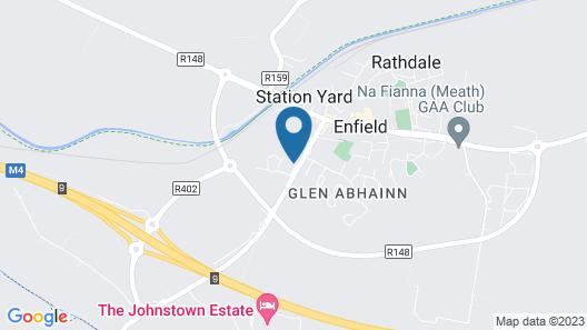 Johnstown Estate Holiday Lodges No 1 Map