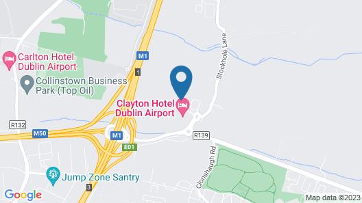 Holiday Inn Dublin Airport, an IHG Hotel Map