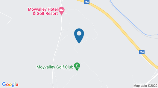 Moyvalley Hotel & Golf Resort Map
