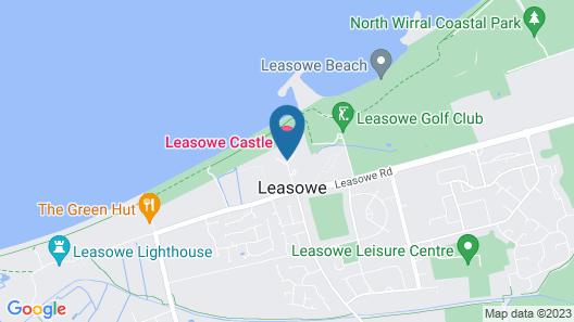 Leasowe Castle Map