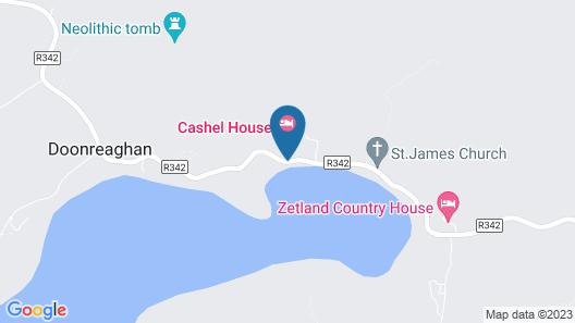 Cashel House Hotel Map