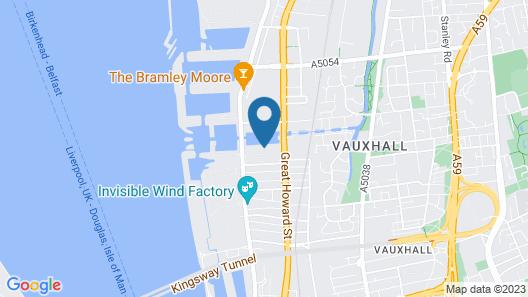 Titanic Hotel Liverpool Map