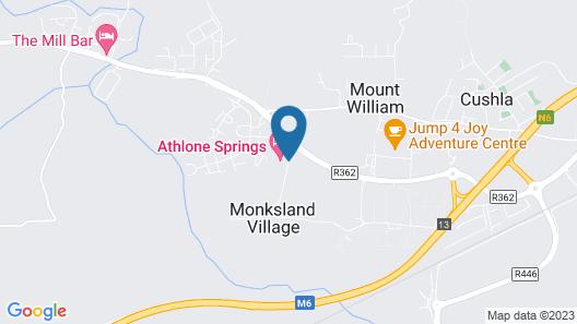 Athlone Springs Hotel Map