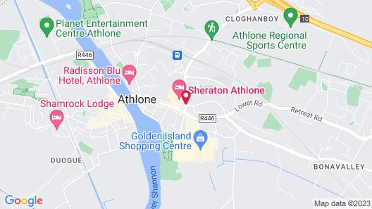 Sheraton Athlone Hotel Map