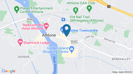 Sheraton Athlone Hotel Map