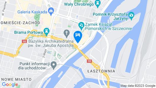 Hotel Podzamcze Map