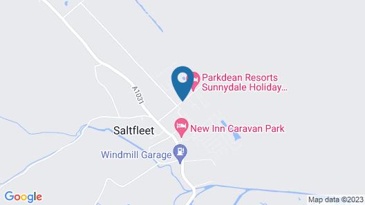Caravan Hire at Sunnydale Holiday Park Map