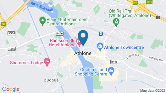 Radisson Blu Hotel, Athlone Map