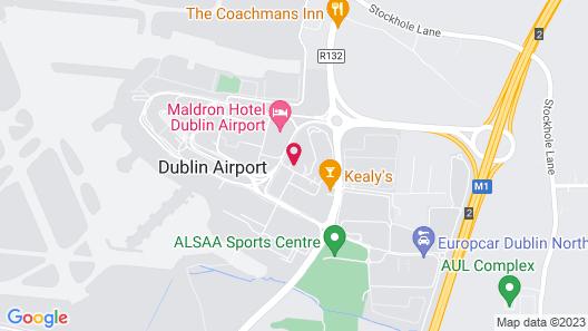 Radisson Blu Hotel, Dublin Airport Map