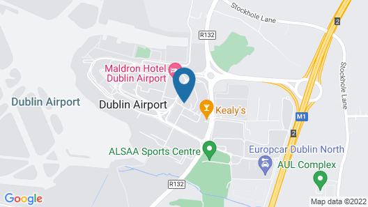 Radisson Blu Hotel, Dublin Airport Map