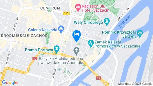Park Apartments Map