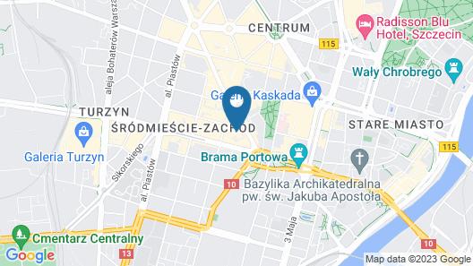 City Aparthotel Map