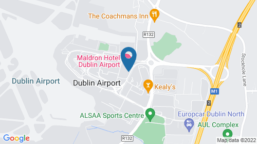 Maldron Hotel Dublin Airport Map