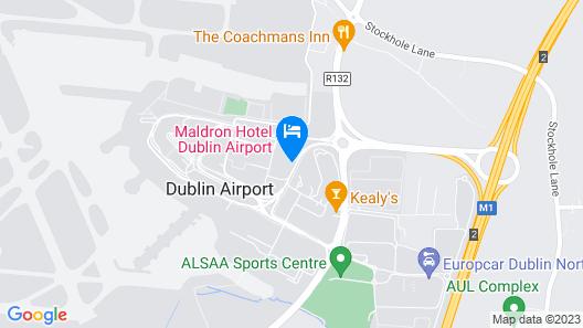 Maldron Hotel Dublin Airport Map