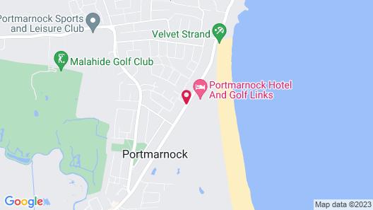 Portmarnock Hotel & Golf Links Map