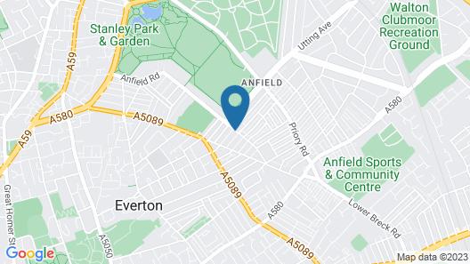 Cambrington Hostel Map