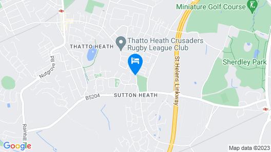 Sutton Heath Lodge Map
