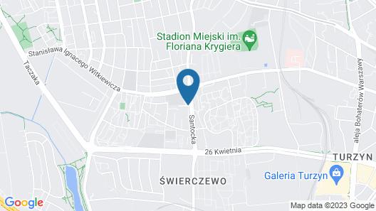 LIVIN Apartments Map