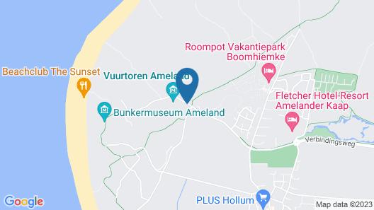 Appartementen de Vuurtoren Map