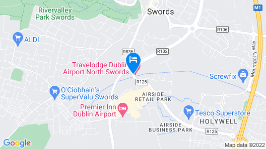 Travelodge Dublin Airport North Swords Map
