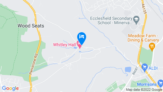 Whitley Hall Hotel Map
