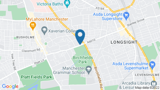 Hala Guest House Map