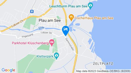 Hotel Reke Map