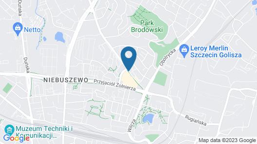 Apartments in Szczecin Map