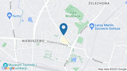 JTB Apartments Szczecin Map