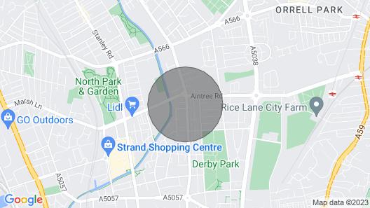 NEW Irisplace Liverpool @ New Strand Map