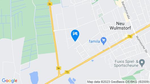 M&M Hotel - Neu Wulmstorf Map