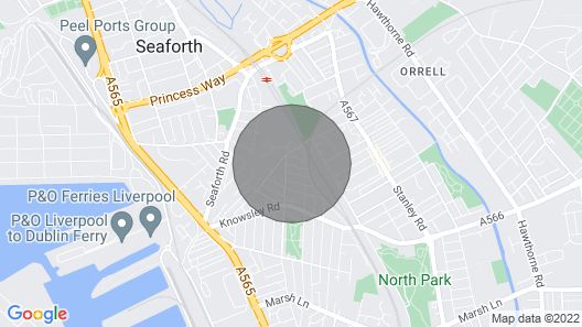 Empire Liverpool Properties- Waller Street Map