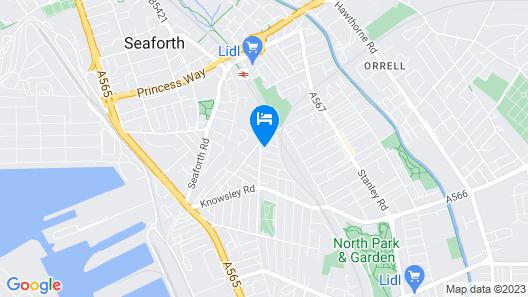 Empire Liverpool Property- Waller Street Map