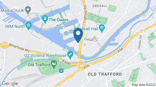 Copthorne Hotel Manchester Map