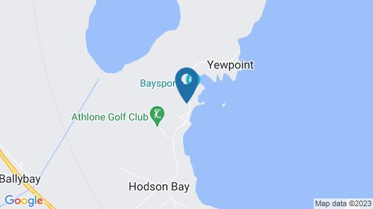 Hodson Bay Hotel Map