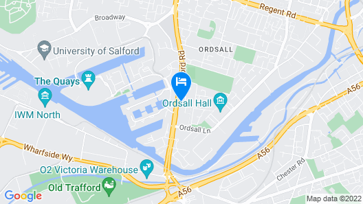 AC Hotel by Marriott, Manchester Salford Quays Map