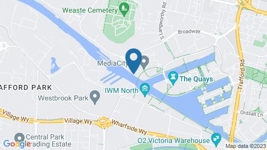 The Heart Apartments @ Mediacity UK Map