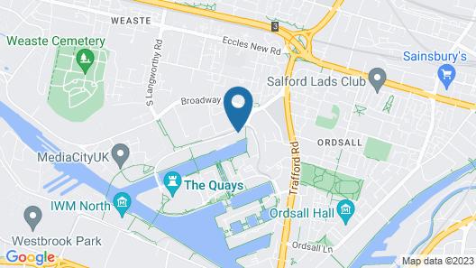 Quay Apartments Map